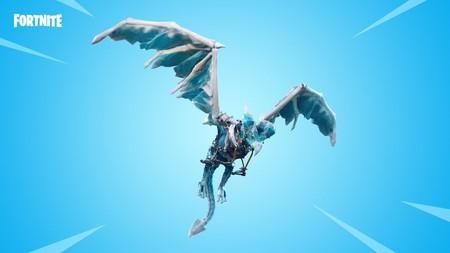 Fortnite saca un ala delta con forma de dragón que perfectamente podría salir de Juego de Tronos