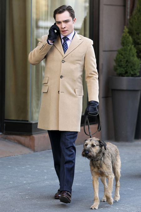 Chuck Bass Coat Winter