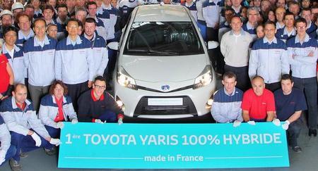 Toyota comienza la fabricación del Yaris híbrido en Francia