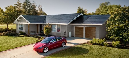 Tejado Solar Tesla