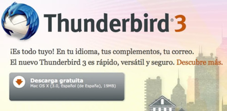Disponible Thunderbird 3