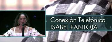 Isabel Pantoja entra directo en 'Sábado Deluxe' y Kiko Rivera se deshace en lágrimas al escuchar a su madre dolida e indignada
