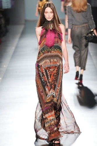Etro Otoño-Invierno 2009/2010 en la Semana de la Moda de Milán, largo