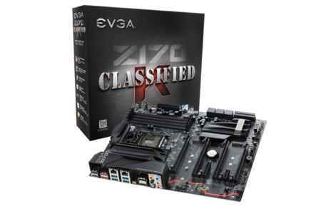EVGA ya nos deja hacer overclock en Intel Skylake (sin-K) con sus motherboards  Z170