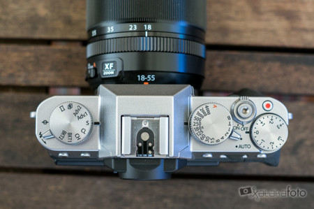 Fujifilm X T10 Top