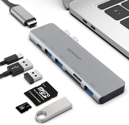 Adaptador USB para Macbook Pro y Macbook Air