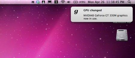 gfxCardStatus, monitoriza y controla las dos tarjetas gráficas de tu MacBook Pro i5/i7