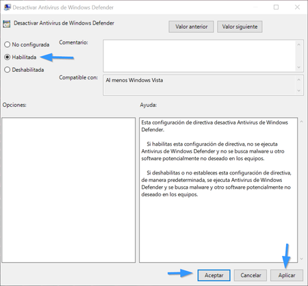 Desactivar Antivirus De Windows Defender