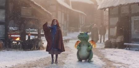 El más tierno anuncio de Navidad 2019 sobre una niña y su particular mascota, que resalta el valor de la amistad