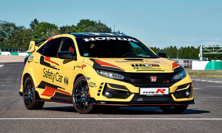 El muy radical Honda Civic Type R Limited Edition será el safety car del WTCR 2020, y así luce con pinturas de guerra