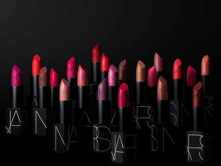 Nars Iconic Lipstick Group Stylized Image Black Packaging