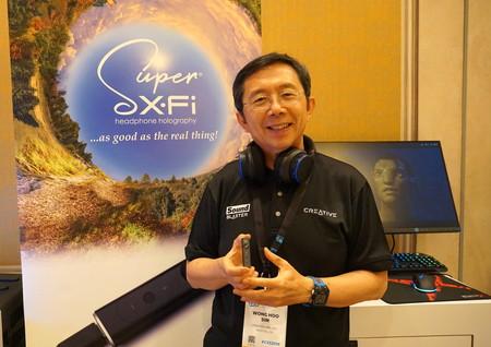 """""""Hemos tardado 20 años en conseguir que los auriculares tengan un sonido 3D real"""", Sim Wong Hoo, CEO de Creative"""