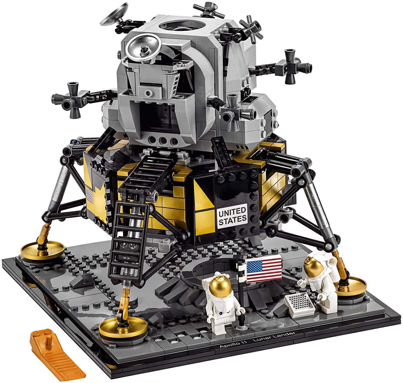LEGO Kit de construcción Creator Expert (1087 Elementos): NASA Apollo 11 Lunar Lander (10266)