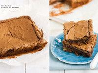 Receta de brownie de moca