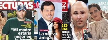 """De la nueva amiguita de Iker Casillas a Kiko Rivera y el """"veneno"""" de su tío Agustín: Estas son las portadas de la semana del 17 de marzo"""