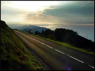 Carretera sin curvas