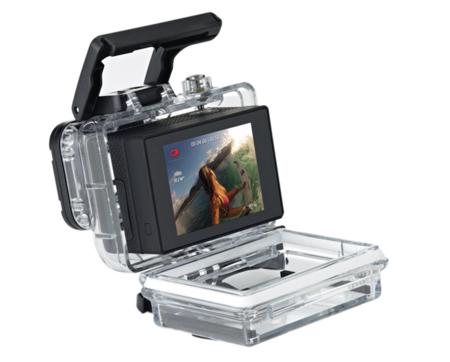 La próxima cámara de acción de GoPro podría ser un cubo perfecto, según una nueva patente
