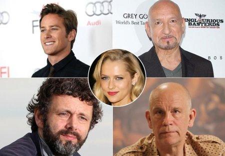 Armie Hammer, Ben Kingsley, Michael Sheen, Teresa Palmer y John Malkovich en 'Cut Bank'