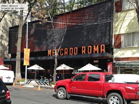 Mercado Roma, un mercado gourmet muy interesante