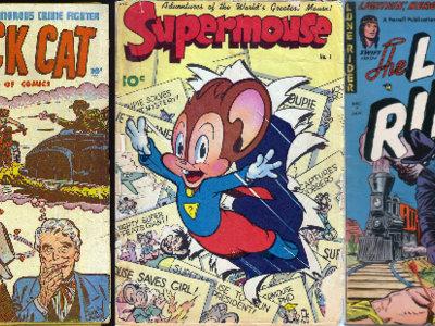 Revive la edad de oro de los cómics descargando más de 15.000 anteriores al año 1959