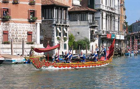 La Regata Storica en Venecia