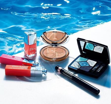 Dior se une a la tendencia del azul en su nueva colección de maquillaje para el verano 2018