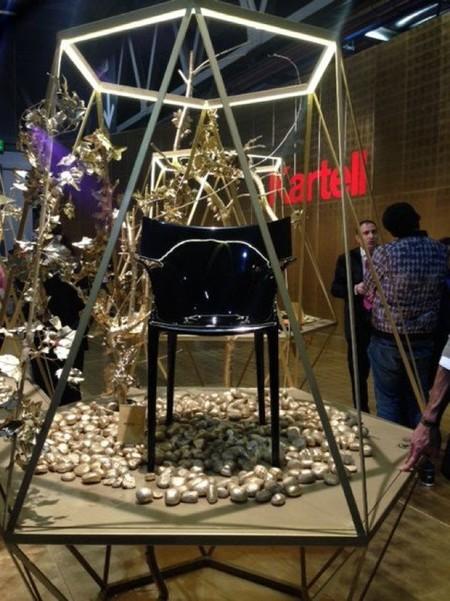 Espectacular puesta en escena del stand de Kartell en la Milán Design Week