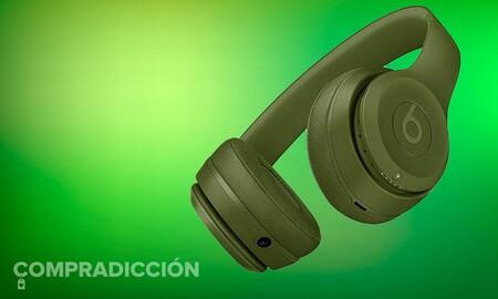 Si buscas auriculares de diadema y tu color es el verde, los Beats Solo3 Wireless te resultarán todo un chollo: MediaMarkt te los deja por 119 euros en su outlet de eBay