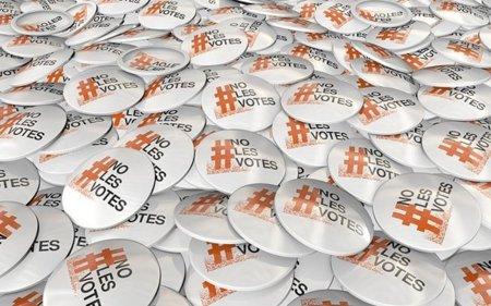 #NoLesVotes [o los cuatro gatos que son cuatro millones]