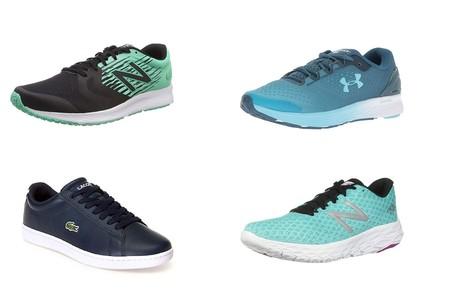 Chollos en tallas sueltas de  zapatillas Lacoste, New Balance o Under Armour en Amazon desde 18 euros