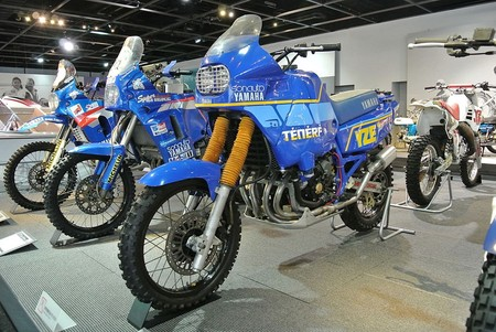 Yamaha Paris Dakar Rally Motorcycles
