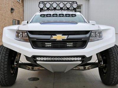 Este loco Chevrolet Colorado podría ser el caballo ganador en la Baja del futuro