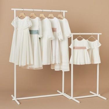 Mango lanza su primera colección de vestidos de ceremonia para niños y es ideal tanto para bodas como para comuniones