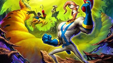 Hay un nuevo videojuego de Earthworm Jim en desarrollo, pero para la consola Intellivision Amico