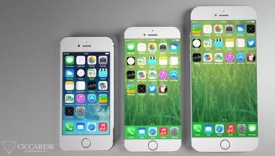 El iPhone 6 podría ser presentado en agosto, 4,7 y 5,5 pulgadas como opciones