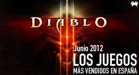 Los juegos más vendidos en España en junio 2012: Diablo sigue haciendo de las suyas