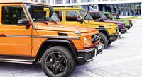 """Mercedes-Benz G 63 y G 65 AMG, """"Crazy color"""" Edition"""