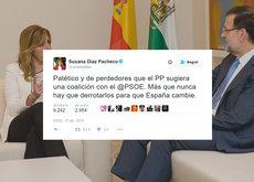 Todas las veces que el PSOE dijo en Twitter que jamás permitiría un gobierno del PP