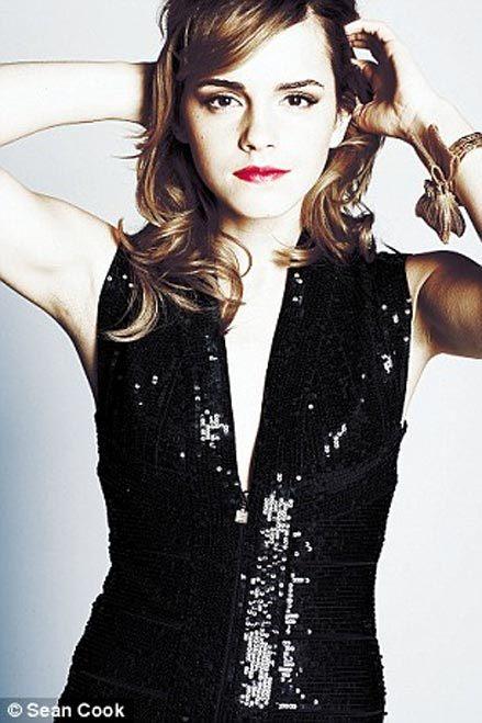 Foto de Emma Watson de fiesta para la revista Live (10/10)