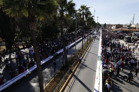 Con dos kilómetros de longitud, México le quita a Suiza el récord Guinness con la rosca de Reyes más grande del mundo