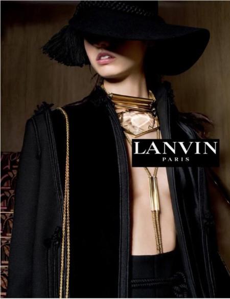 Tim Walker firma la nueva campaña de Lanvin en la que Alber Elbaz ... 86a9c2521ca