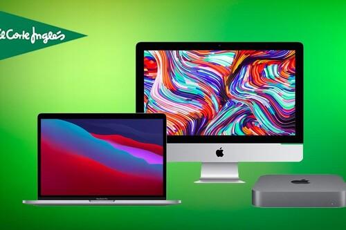 Estos MacBook, iMac y Mac Mini están rebajados en El Corte Inglés: tienes hasta un 37% de descuento para estrenar ordenador de Apple