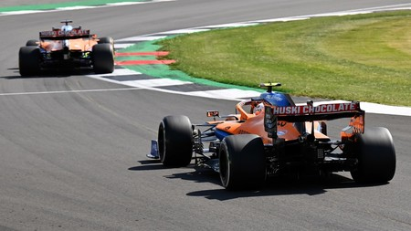 Norris Sainz Silverstone F1 2020