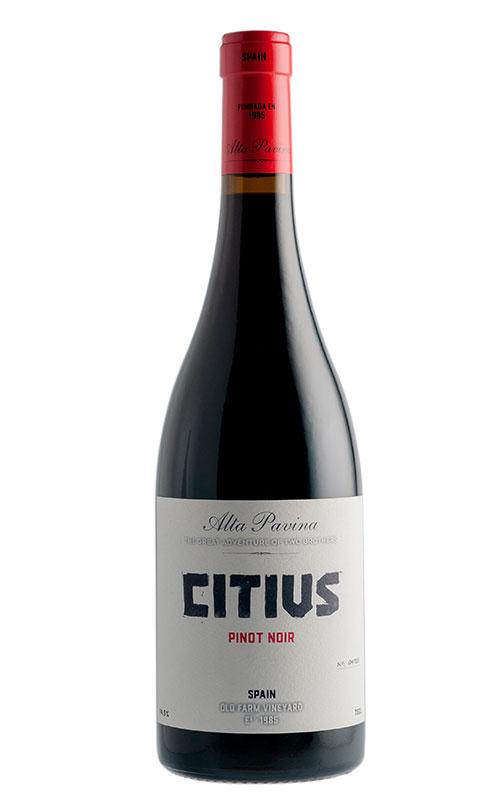 Alta Pavina Citius Pinot Noir, 2017. IGP Castilla y León