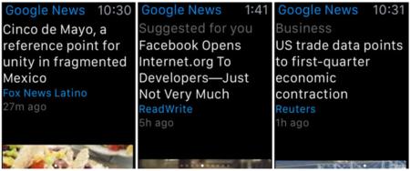 Gracias Google por tu nueva app para Apple Watch, pero de verdad no era necesario
