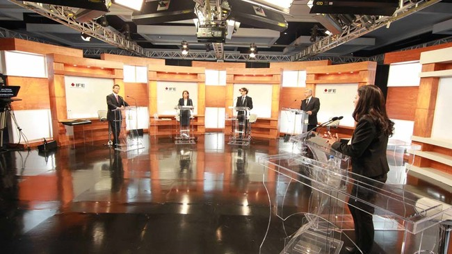 La tecnología no llegará a los debates presidenciales: el INE prohíbe el uso de smartphones y tablets a los candidatos