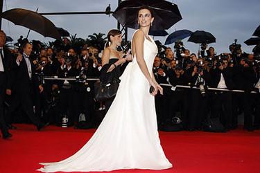 Penélope Cruz en la premiere de Vicky Cristina Barcelona en Cannes