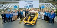 Volkswagen produce su unidad 10 millones en México