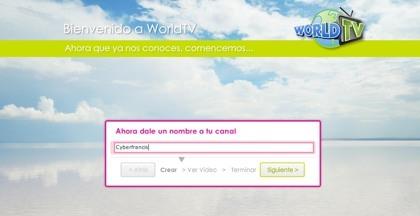 WorldTV, creando nuestro canal de televisión por internet con nuestros vídeos favoritos