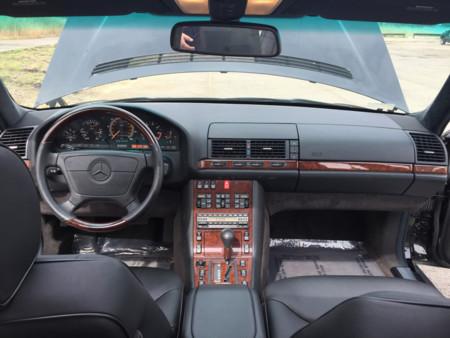 Mercedes Clase S W140 Interior